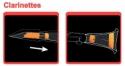 Saxmute Dämpfersystem für Klarinette