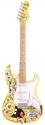 SPONGEBOB 4/4 E-Gitarre mit Verstärker und Zubehör