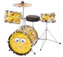 SPONGEBOB Schlagzeug 3 Teile mit Zubehör