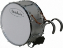 Steinbach SMBD-2712-H Alu Marching Bassdrum 27,5 Zoll x 12 Zoll mit Tragegestell