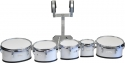 Steinbach Marching Drum Set 6 Zoll & 8 Zoll & 10 Zoll & 12 Zoll & 13 Zoll  Set mit Halter