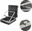Stagg ABS Transportcase für 19 Zoll /12 HE Rack-Mixer Rackkoffer