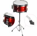 Steinbach Snare Drum 10x5 Zoll für Kinderschlagzeug rot inkl. Ständer