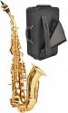 Steinbach SSSC-100 Sopran Saxophon gebogen Hoch Fis-Klappe
