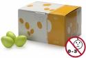 Stagg EGG-50 GRM Box mit 50 Plastik Schütteleier grün