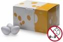Stagg EGG-50 WHM Box mit 50 Plastik Schütteleier weiss