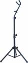 Steinbach Saxophonständer für Altsaxophon / Tenorsaxophon, höhenverstellbares Standstativ