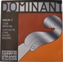Thomastik 132 Dominant D-Einzelsaite 4/4 Geige/Violine Nylonkern Alu umsponnen mittel