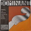 Thomastik 133 Dominant G-Einzelsaite 4/4 Geige/Violine Nylonkern Silber umsponnen mittel