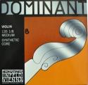 Thomastik 135BM Dominant Saitensatz 1/8 Geige/Violine E-Saite Chromstahl mittel