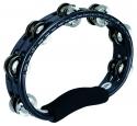 MEINL Tambourin 2-reihig Kunststoff schwarz