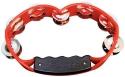 Tycoon Schellenring TBD-RS rot verchromte Stahlschellen inkl. Montagehalter