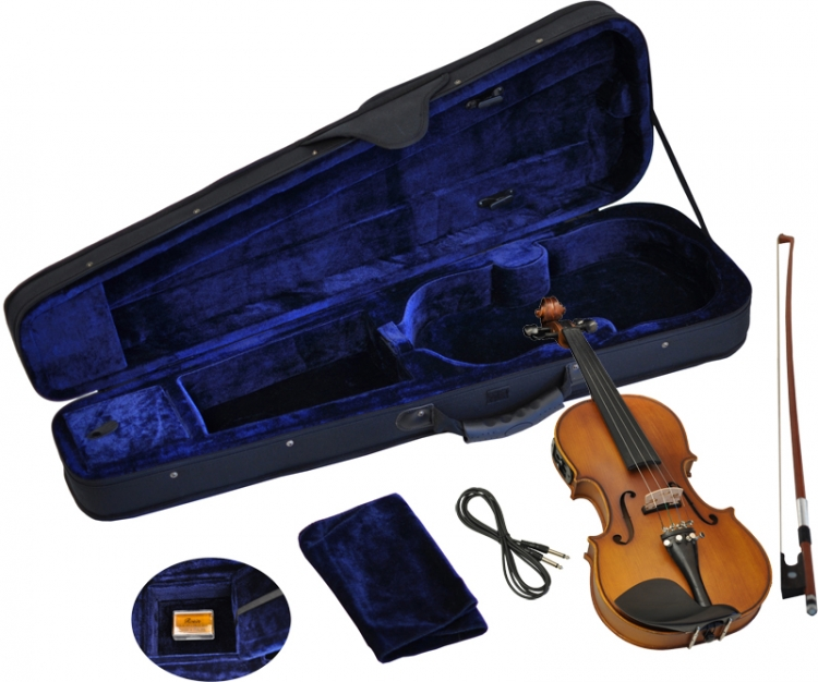 4//4 Violine Geige EQ Tonabnehmer Piezo Pickup Tonabnehmer Mit Kabel