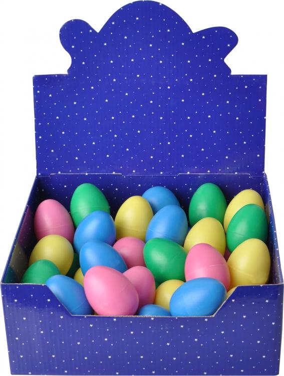 Steinbach Egg Shaker Schütteleier Rasseleier 6 Stück bunt sortiert