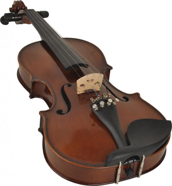 Violine Geige Geigenset 4//4 inkl Bogen und Zubehör Koffer